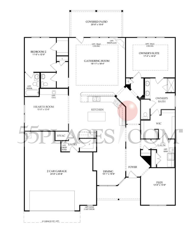 Sonoma Cove Floorplan 2604 Sq Ft Hill Country Retreat