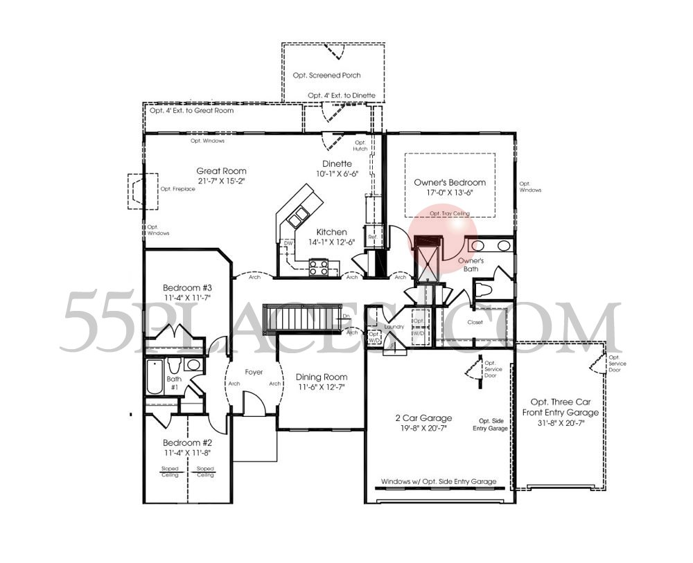 Springhaven Floorplan 1952 Sq Ft Stonegate West – Ryan Homes Springhaven Floor Plan