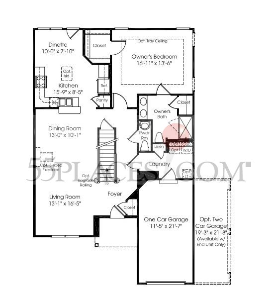 Stonehurst Floorplan | 2183 Sq. Ft