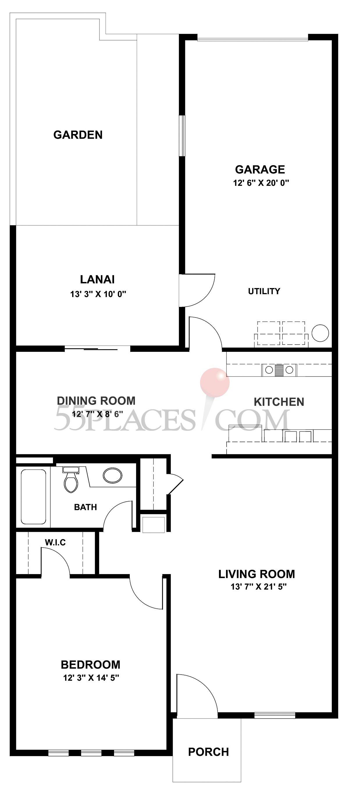 Garden Apartment (A-101)