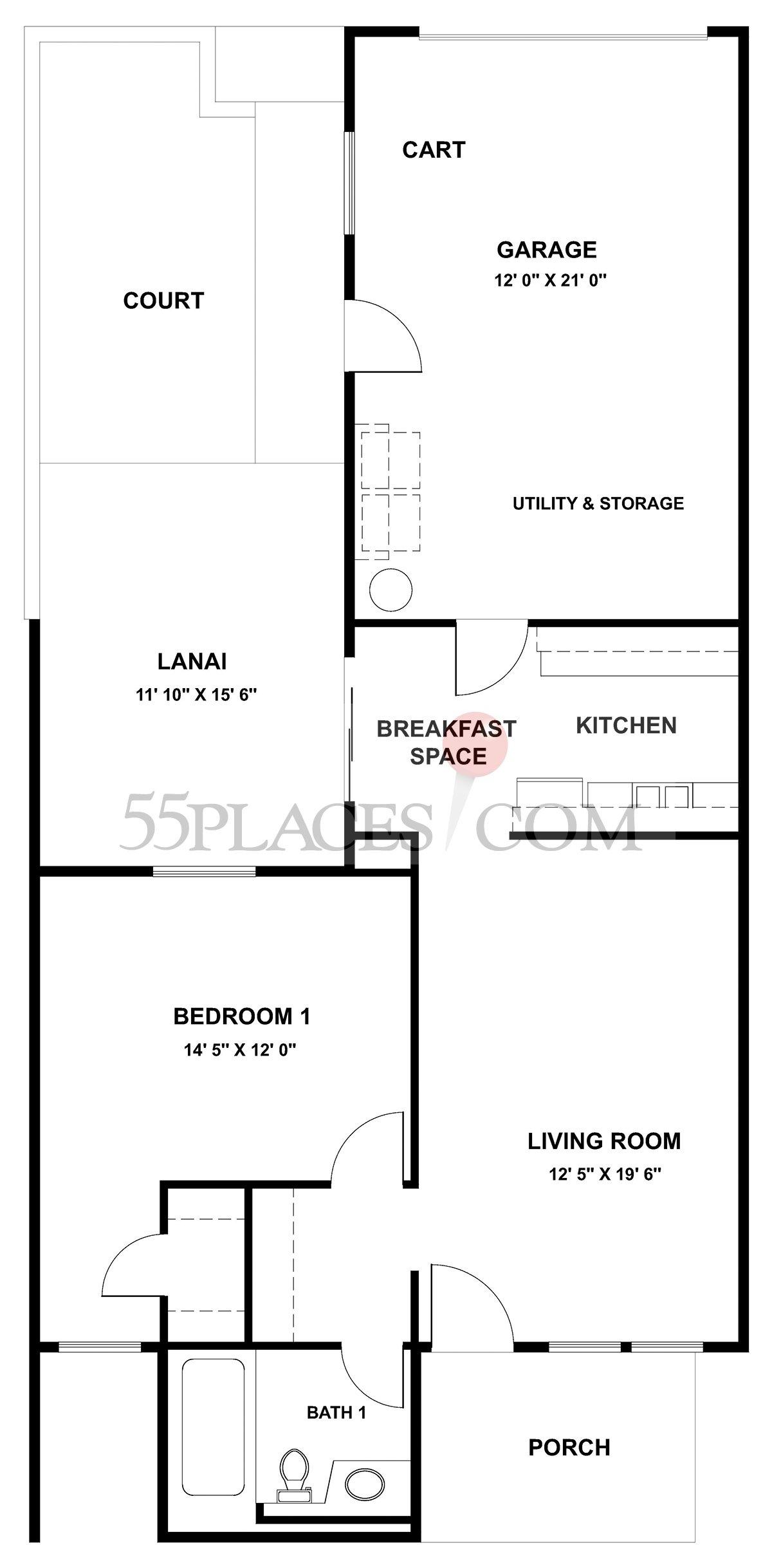 Garden Apartment (G-7631)