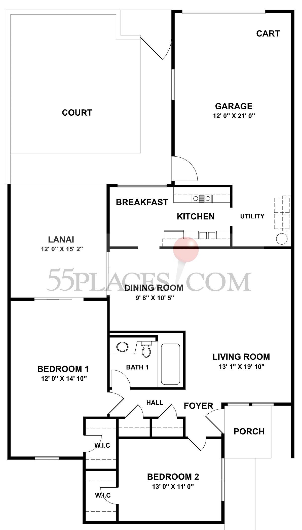 Garden Apartment (G-7632)