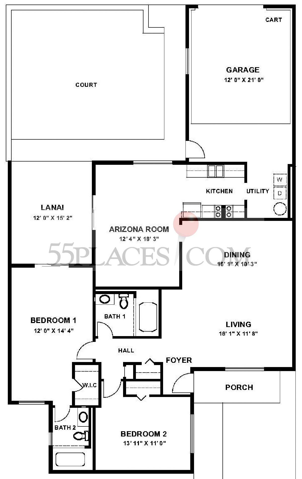 Garden Apartment (G-7634)