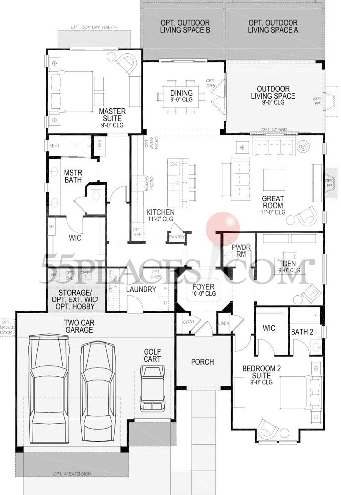 Image Result For Sq Ft Ranch Home Plan