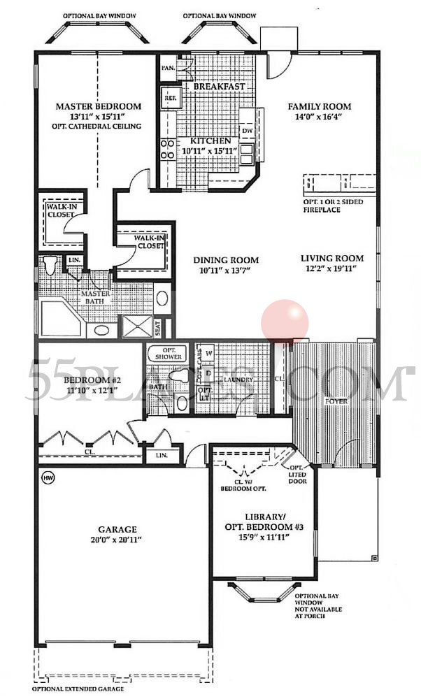 Captiva Floorplan 2117 Sq Ft Four Seasons At South