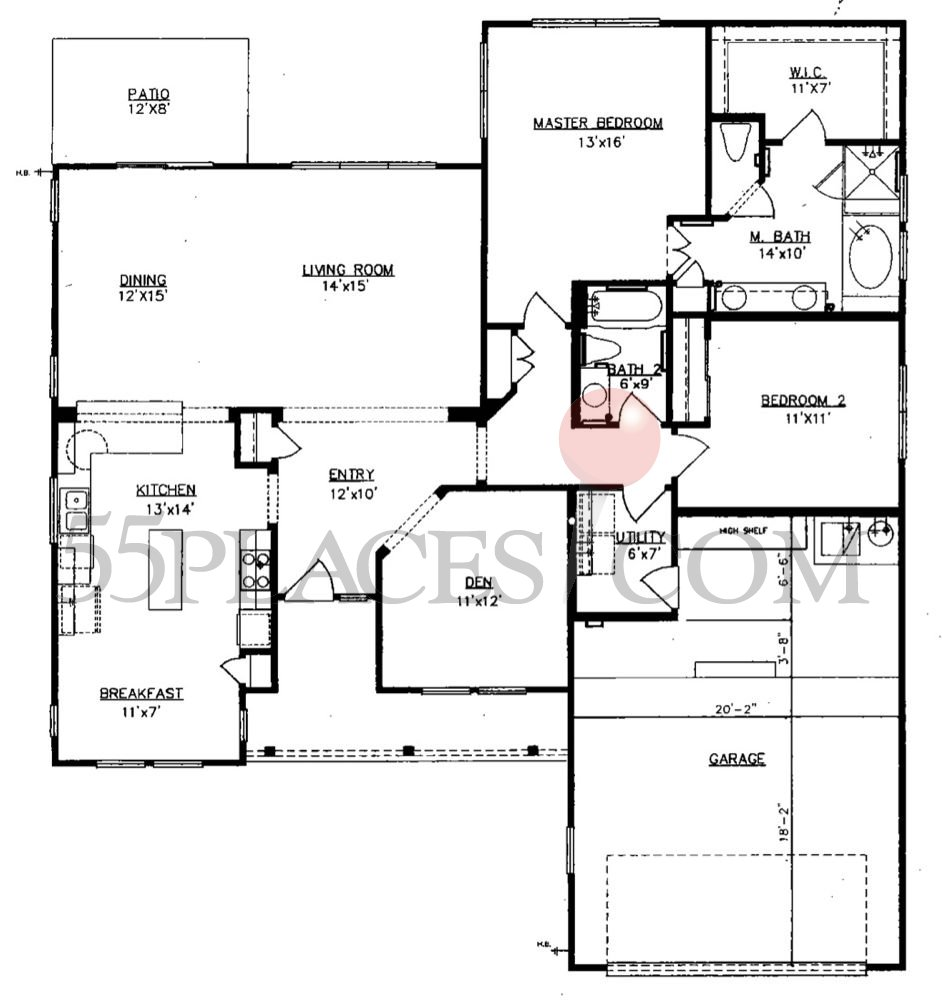 Finding A Floor Plan: Trinity Floorplan