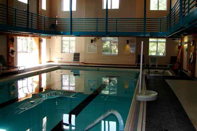 Indoor Lap Pool and Walking Track