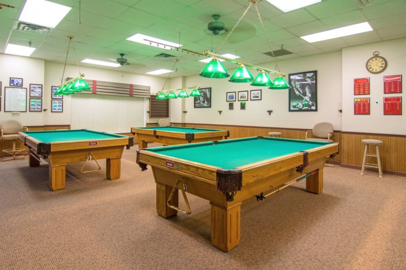 Billiards & Ping Pong Room