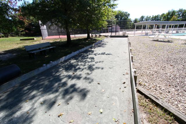 Bocce Ball Court