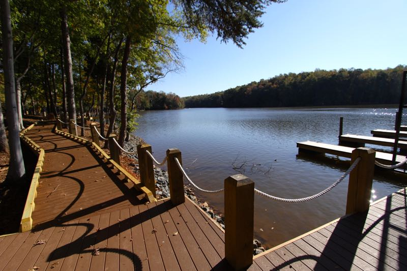 Scenic Walking Trails & Lake Wylie