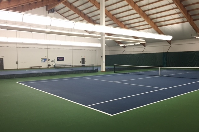 2 Indoor Tennis Courts