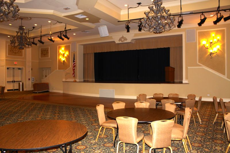 Ballroom and Stage