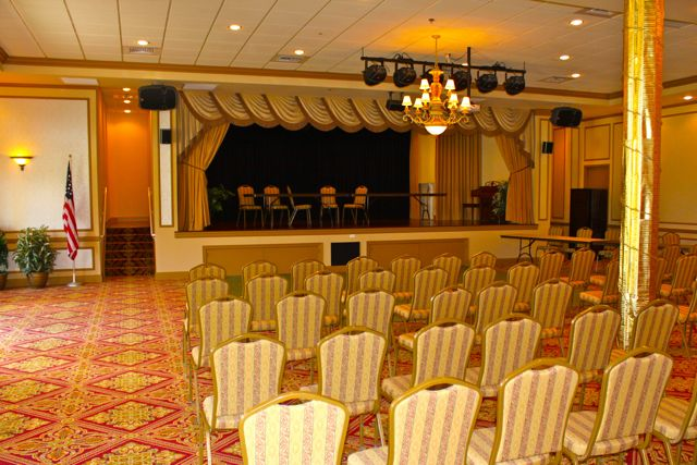 Ballroom with Stage