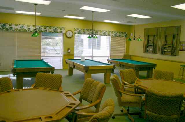 Billiards and Card Room