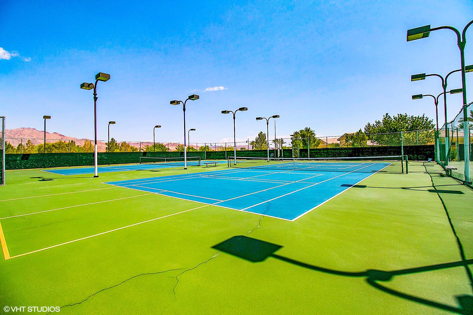 3 Tennis & Pickleball Courts