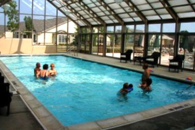 The villages of flowers mill langhorne pa 55places Retirement villages with swimming pools