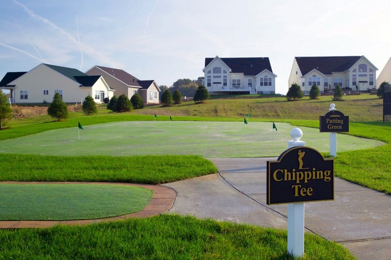 Chipping Tee & Putting Green