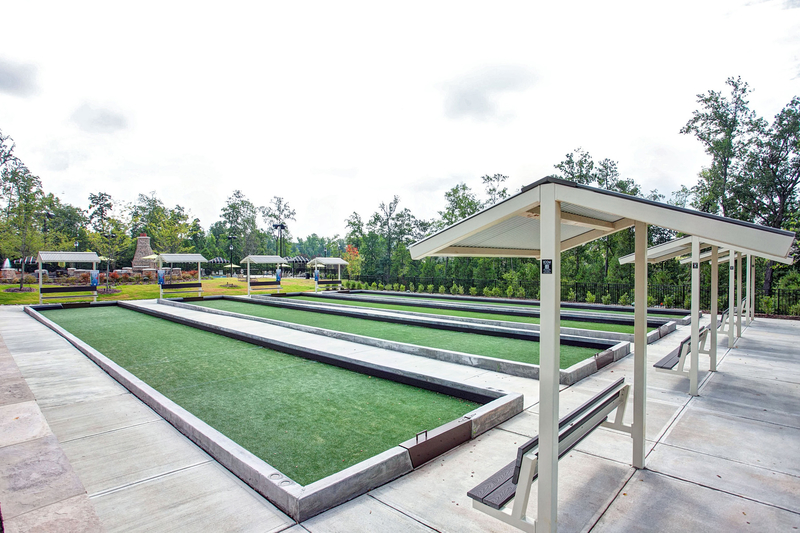 4 Bocce Ball Courts