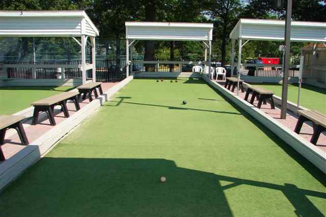3 Bocce Ball Courts