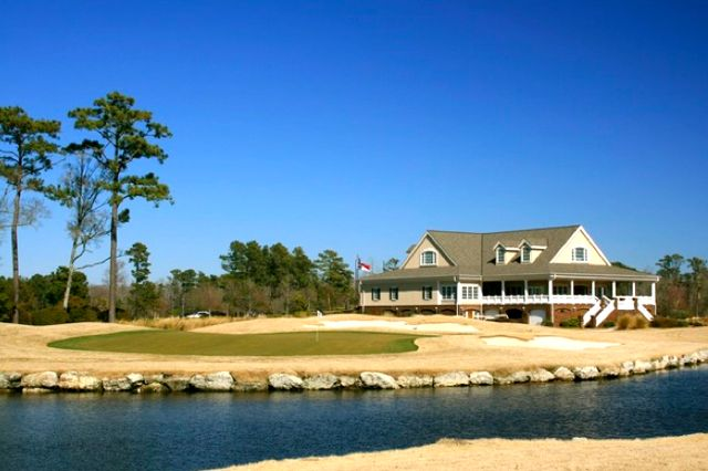 Two Grand Golf Clubhouses