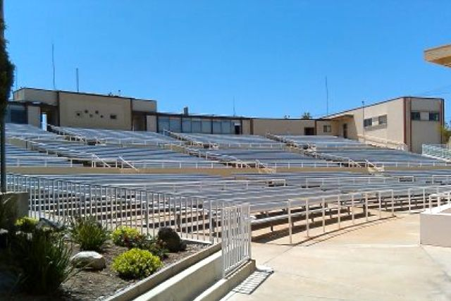 2,500-Seat Amphitheater with Stage