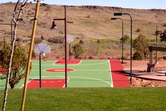 Basketball & Many More Sports Courts