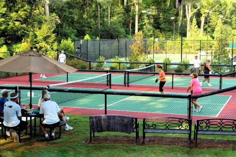 2 Pickleball Courts