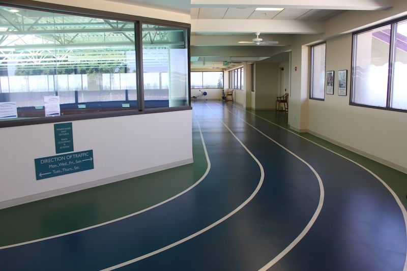 Indoor Walking Trail