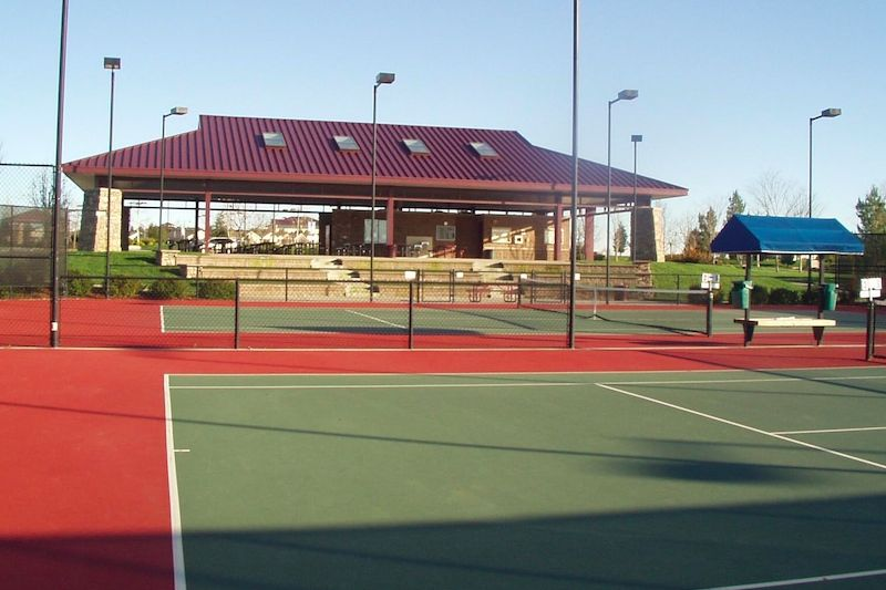 20 Lighted Tennis Courts