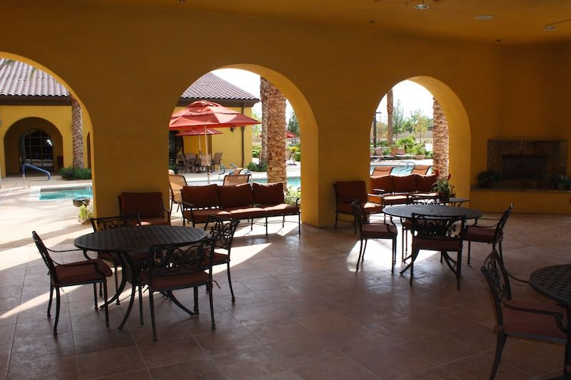 Clubhouse Patio