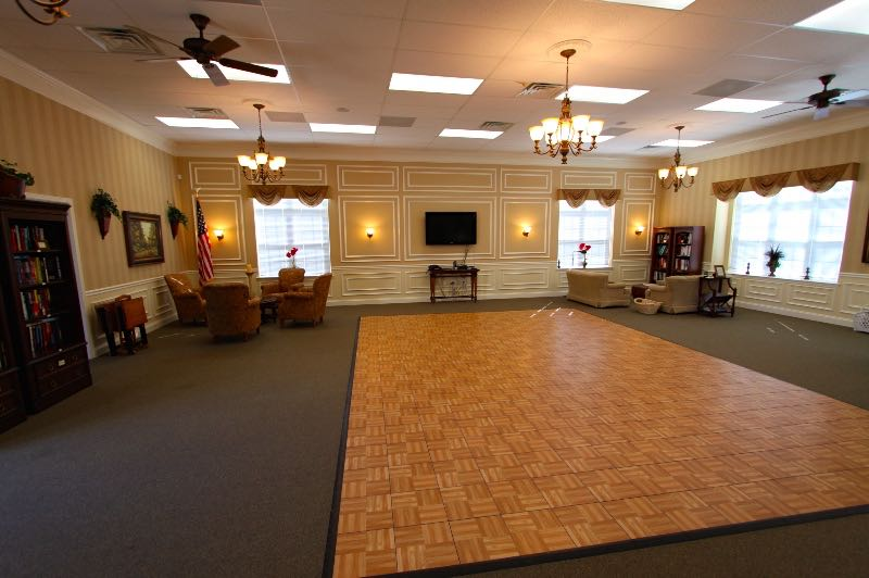 Great Room with Dance Floor