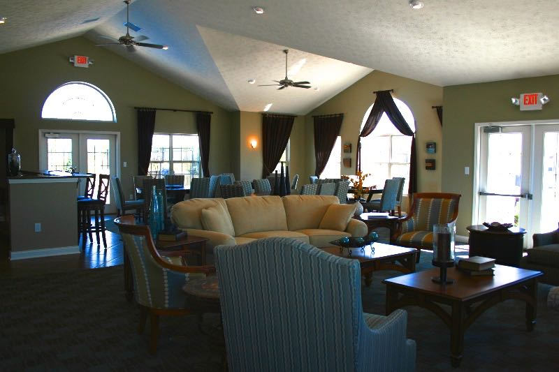 Clubhouse Social Area