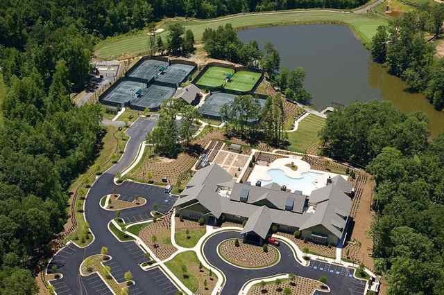 Aerial View of Clubhouse