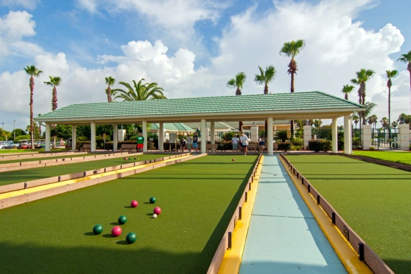 5 Bocce Ball Courts