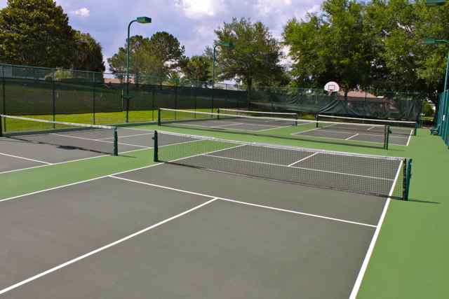 Pickleball, Tennis and Basketball Courts
