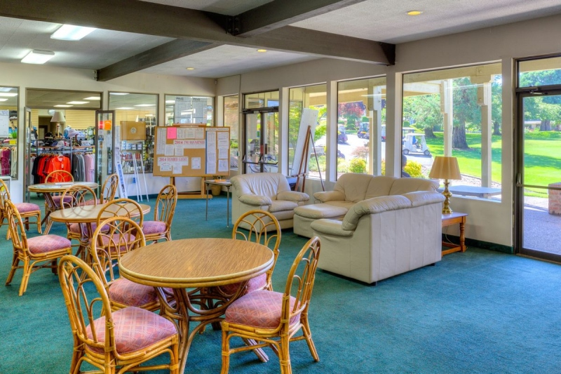 Golf Clubhouse Lounge