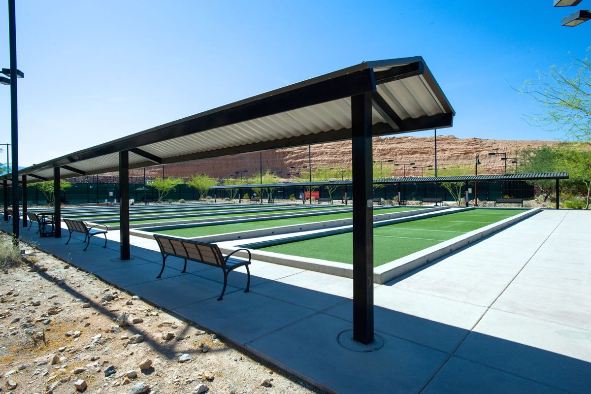 7 Bocce Ball Courts