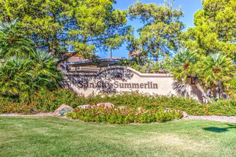 Sun City Summerlin Del Webb | Sun City Las Vegas, NV Homes for Sale