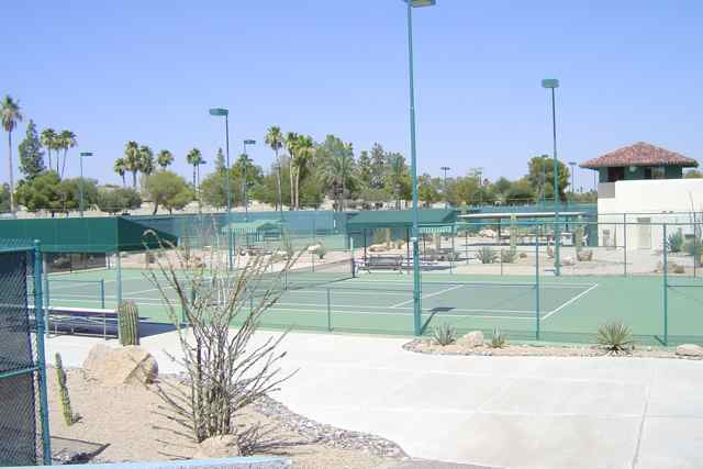Numerous Tennis Courts