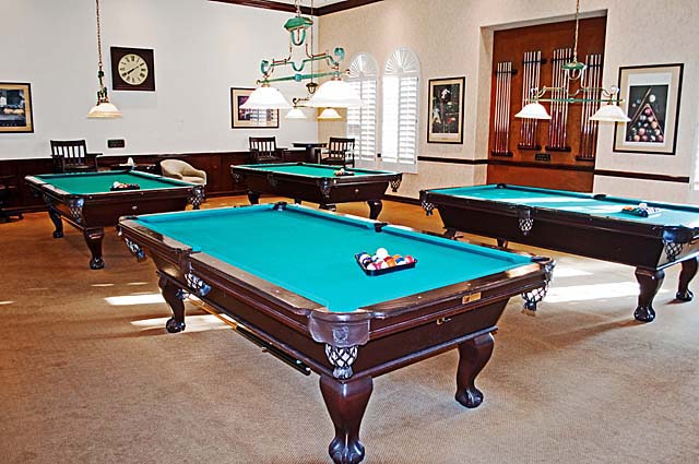 Oakwood Billiards Room