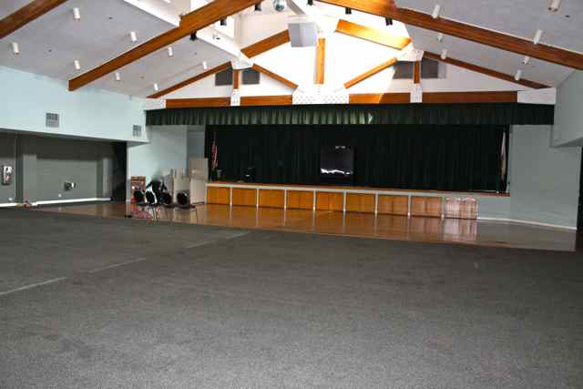 Auditorium with Stage