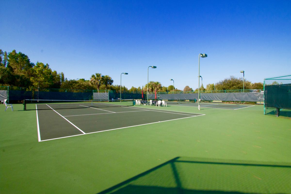 3 Tennis Courts
