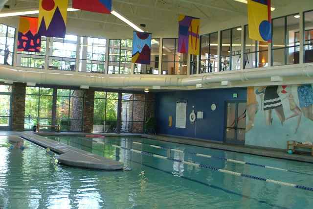 Indoor Pool & Walking Track