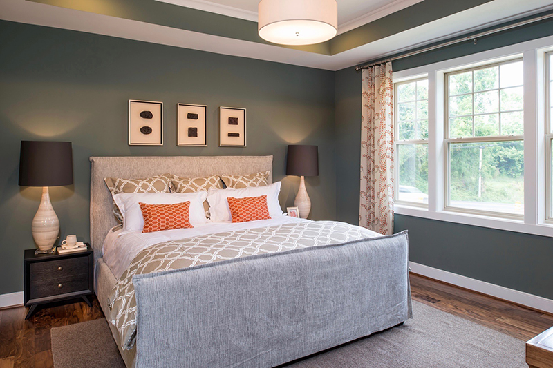 Spacious Master Bedrooms